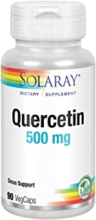 Solaray Quercetin 500mg | Support for Healthy Cells, Heart, Circulatory & Respiratory System | Bioflavonoids, Antioxidants...