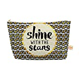 Kess InHouse 12.5' x 7' Everything Bag, Tapered Pouch,'Shine with The Stars' (PG1081AEP04)
