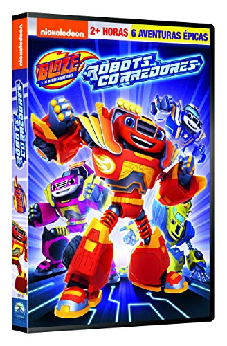 Blaze Y Los Monster Machines 12: Robot Riders [DVD]