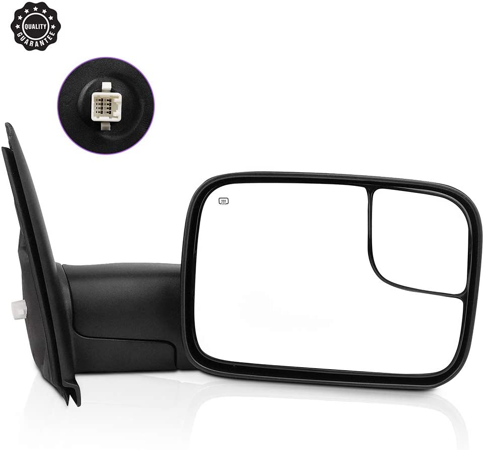 INEEDUP Towing Mirror Popular brand in the world Fits for Ram 2003-2009 1500 Dodge Max 56% OFF