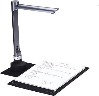 スキャナー 800万画素スキャナー A3対応 日本語文章識別 LEDライト付き 高画質USB書画カメラ 教室 オフィス