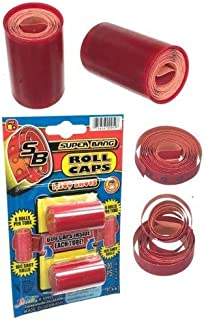 Back to Basics Toys Super Bang Roll Cap Refill Package (Single Package Shoots 1200 Shots)..