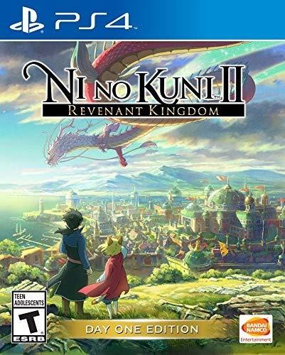 Namco Bandai Games Ni no Kuni II Revenant Kingdom Básico PlayStation 4 Inglés vídeo - Juego (PlayStation 4, RPG (juego de rol), RP (Clasificación pendiente))