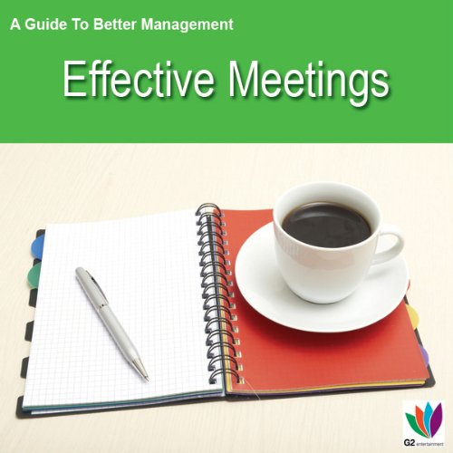 Effective Meetings audiobook cover art