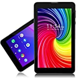 Indigi 2-in-1 Phablet 7-inch Android Pie WiFi+4G LTE TabletPC & Phone (AT&T/T-Mobile Unlocked) Black