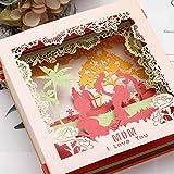 Sethexy 3D Carte per la festa della mamma Apparire Biglietti di ringraziamento Regali per la festa della mamma Schede e buste vuote Carta di anniversario Scatola Carte di compleanno di mamma per donne