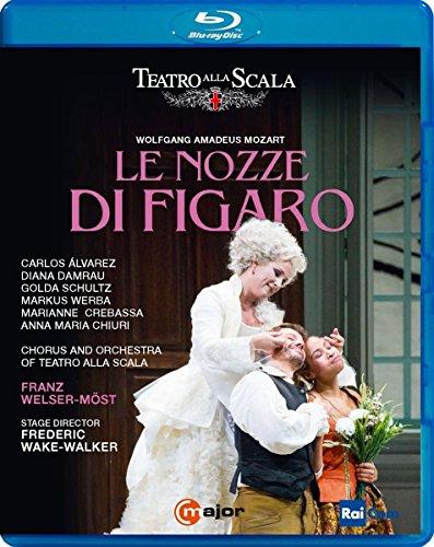 『フィガロの結婚』全曲 ウェイク=ウォーカー演出、ヴェルザー=メスト&スカラ座、カルロス・アルバレス、ディアナ・ダムラウ、他