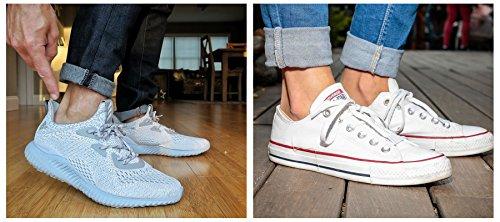 Womens No Show Socks, Cotton Low Cut Flat Boat Liner Non Slip Casual Short Socks 6 Pair