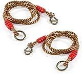 VGEBY1 Cuerdas oscilantes Ajustables, 2 Piezas de 1,8 m de árbol Que cuelgan Cuerdas Fuertes, hamacas