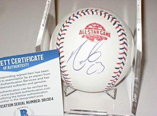NELSON CRUZ (Twins) Signed Official 2018 ALL-STAR Baseball w/ Beckett COA - Autographed Baseballs