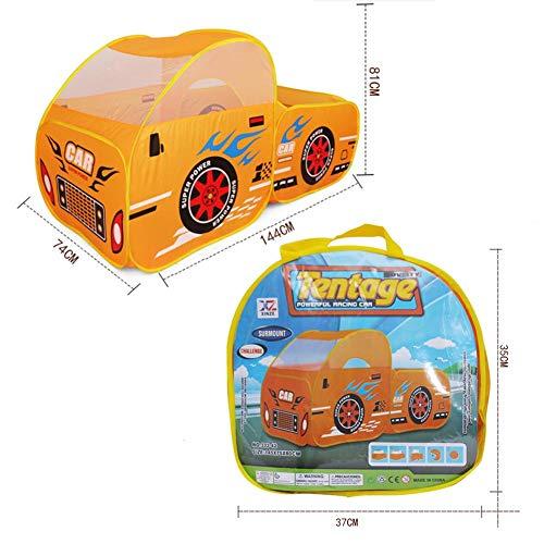 キッズテント 車仕様 子供用テント 遊ぶハウス 折り畳み式 収納バッグ付き 子供 おもちゃ 秘密基地 室内遊具 おままごと 出産お祝い プレゼント 収納バッグ付き