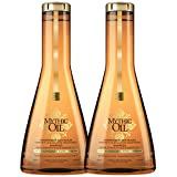 Champú Mythic Oil para cabello normal a fino de L'Oreal Professionnel, doble