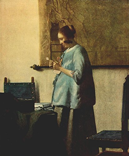 Johannes Vermeer – The Reader Vermeer 1937 Kunstdruck (45,72 x 60,96 cm)
