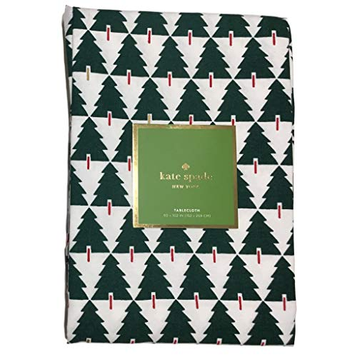 Kate Spade New York Christmas Tree Tablecloths (Spruce Streets, 60 x 102 in)