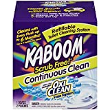 Kaboom Scrub Free! Toilet Bowl Cleaner System with 2 Refills,Pack of 1