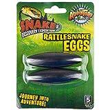 MEKBOK (2.5') Extra Large Singing Buzzing Rattlesnake Eggs Hematite Magnets Therapy RM2865