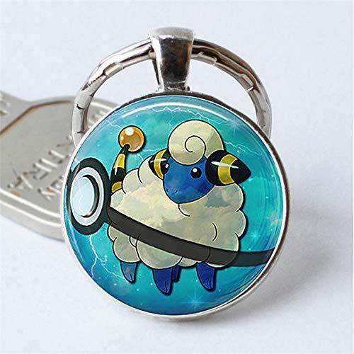 HOT! Porte-clés Pokémon Pikachu Pokeball avec pendentif