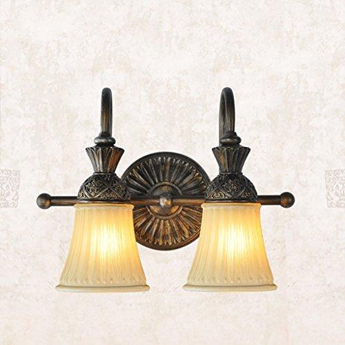 INTASBD Vintage muur lampen klassieke muur spiegel voorlampen badkamer licht ijzer helder antiek helder Europees soort retro licht
