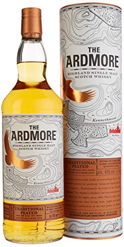 The Ardmore TRADITIONAL PEATED mit Geschenkverpackung Whisky (1 x 1 l)