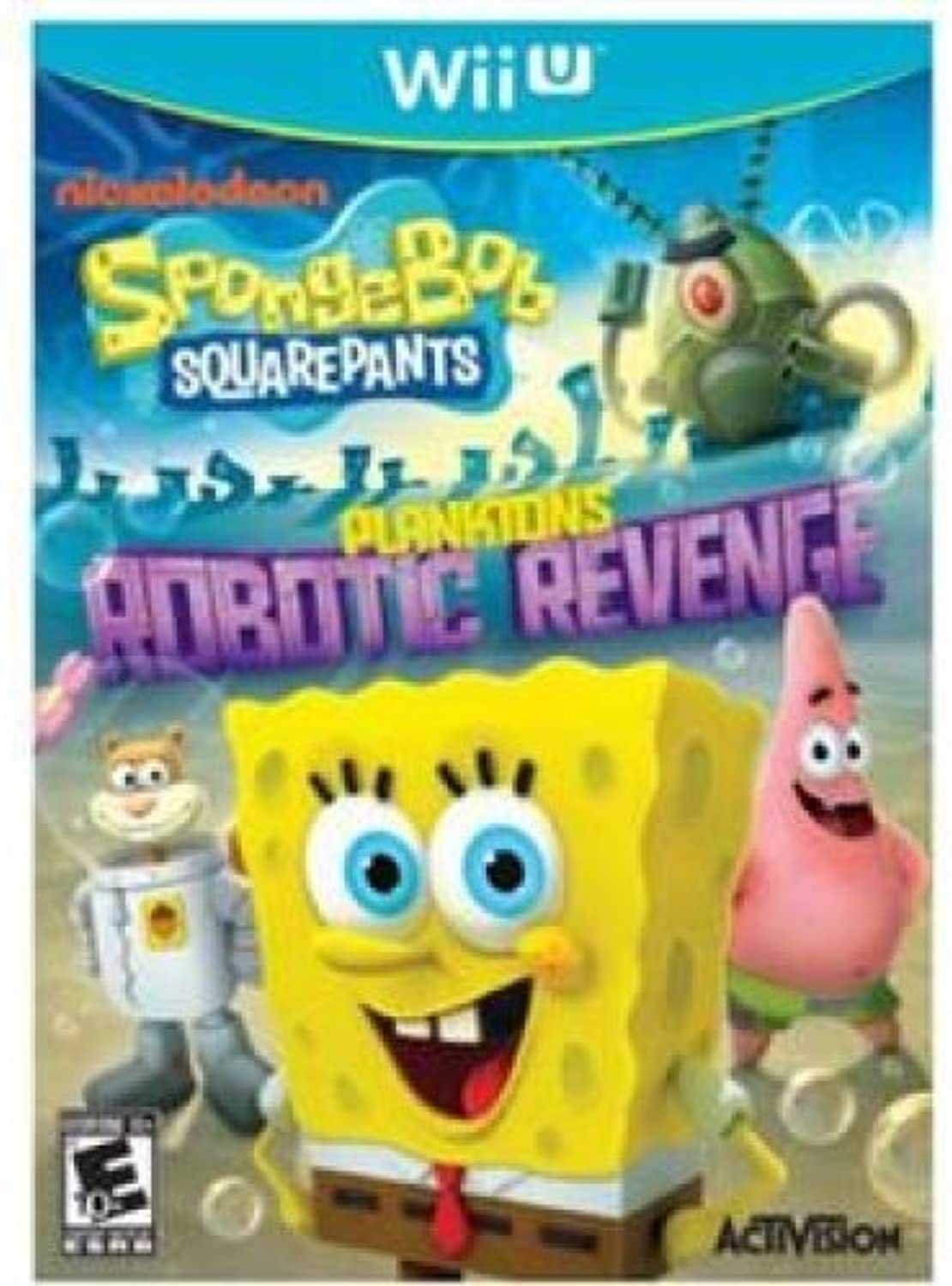 SpongeBob SquarePants  Plankton's Robotic Revenge Wii U by Blizzard Entertainment