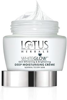 Lotus Herbals Whiteglow Deep Moisturising Creme, SPF 20, 60g