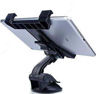 حامل تثبيت للكمبيوتر اللوحي للسيارة، حامل للجهاز اللوحي للوحة القيادة للسيارة على الزجاج الأمامي تدور 360 درجة لأجهزة iPad...
