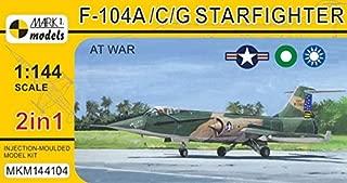 マーク1 1/144 アメリカ空軍 F-104A/C/G スターファイター アット・ウォー 2機セット プラモデル MKM144104