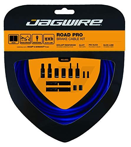 Jagwire Unisex's Sid Blue Road Pro Brake Kit, Shimano/SRAM