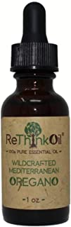 ReThinkOil 1 oz Oregano - 100% Pure Essential Oil - Food Grade - Wild Mediterranean Oil - GC-MS Tested for Purity (Analysis Attached as Photo) - Non-Standardized, Endemic, Undiluted Oil