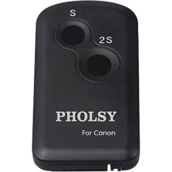 PHOLSY Télécommande sans Fil Infrarouge pour Appareils Photo Canon, Remplacement Télécommande sans Fil RC-6 Canon
