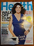 Health Magazine April 2011 Neve Campbell Cover, tone every bulge, walk off 10 lbs in 21 days, eat your way slim