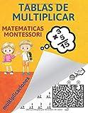 Tablas de Multiplicar: multiplicaciones, multiplicar montessori, tablas de multiplicar para niños, tabla de multiplicar montessori, multiplicar para niños, matematicas divertidas