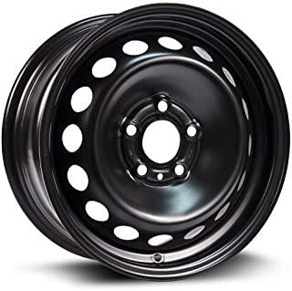 Steel Rim 15X6.5, 5X108, 65.1, +43, black finish (MULTI FITMENT APPLICATION)