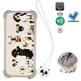 Funda para Hisense L675 Pro Funda Silicone Border + Placa Dura de la PC Stand Carcasa Case Cover Dog