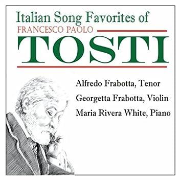 Favorite Italian Songs By Francesco Paolo Tosti