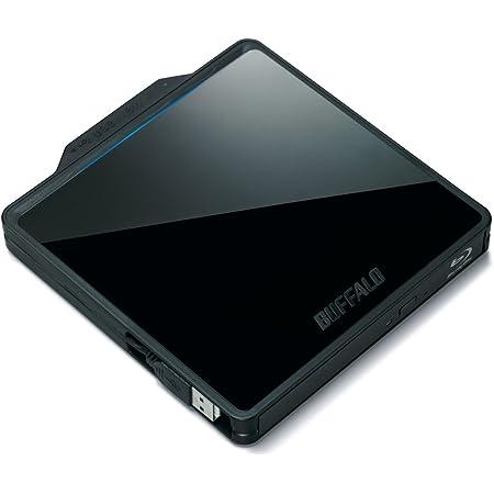 BUFFALO BDXL対応 映像編集ソフト付属 ポータブルブルーレイドライブ BRXL-PC6U2-BK