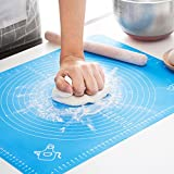 LIMNUO Silicone Pastry Mat for Pastry Rolling with Measurements, Thick...