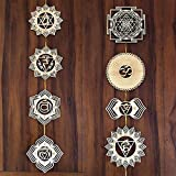 Wall Sculpture that Breathes Life into any space, Home, Office, or Ceremonial / Celebration Site Brings Positive Vibrations and Energy of Creation, Perfect for Meditation Practice and Manifestation Harmonizing Meditation Wall Art for Yoga Studio Déco...