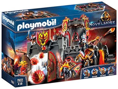 PLAYMOBIL Novelmore Burnham Raiders Fortress Playset