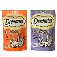 Your cat will love this treat - deliciously crunchy on the outside and soft on the inside No artificial flavours & full of vitamins and minerals Suitable for cats over 8 weeks old