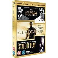 State Of Play/Gladiator/American Gangster [Edizione: Regno Unito] [Reino Unido] [DVD]