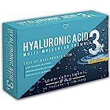Photo Gallery acido ialuronico | acido ialuronico compresse | formula multimolecolare ad alti dosaggi con acido ialuronico ad alto, medio e basso peso molecolare | 30 capsule vegetali
