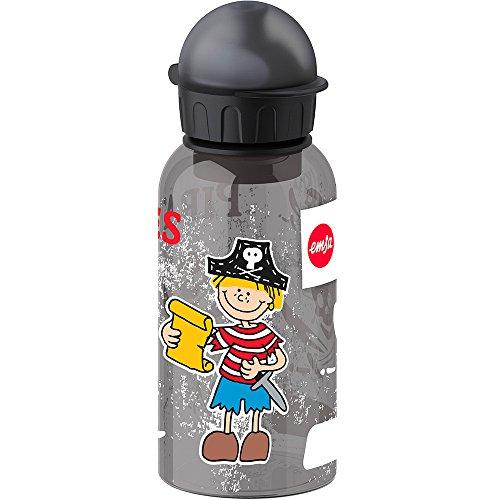 Emsa Kinder-Trinkflasche, 400 ml, Sicherheitsverschluss, Kids Pirate, Tritan, 518121