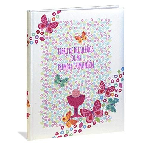 Busquets Libro comunión Musical Castellano Butterfly by