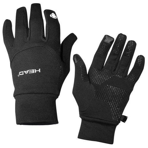 Head: Multi-Sport Gloves with SensaTEC, Black, Large Photo #3
