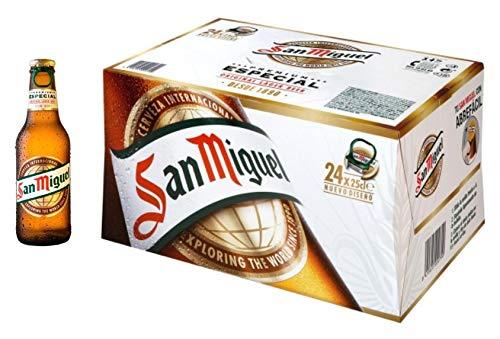 Bier San Miguel 24x25cl (Box 24 Flaschen)