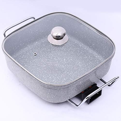 Maifanshi elektrische bakpan, multifunctionele elektrische kookplaat, anti-aanbakplaat, huishoudelijke elektrische shabu-shabu/hete pot, keukengerei, kleine apparaten