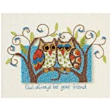 Dimensions ''Owl Always be Your Friend'' Punch Needle Embroidery Kit