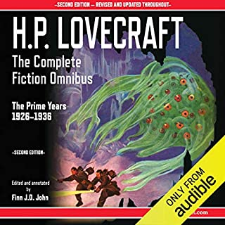 H.P. Lovecraft - The Complete Fiction Omnibus Collection - Second Edition: The Prime Years: 1926-1936 Titelbild
