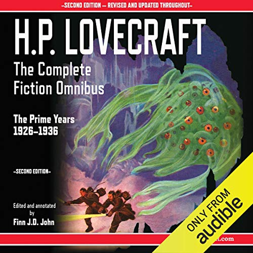 『H.P. Lovecraft - The Complete Fiction Omnibus Collection - Second Edition: The Prime Years: 1926-1936』のカバーアート